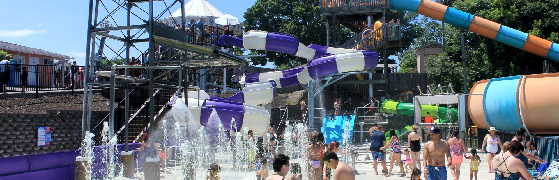 Get Soaked on the Soak Zone at Seabreeeze.