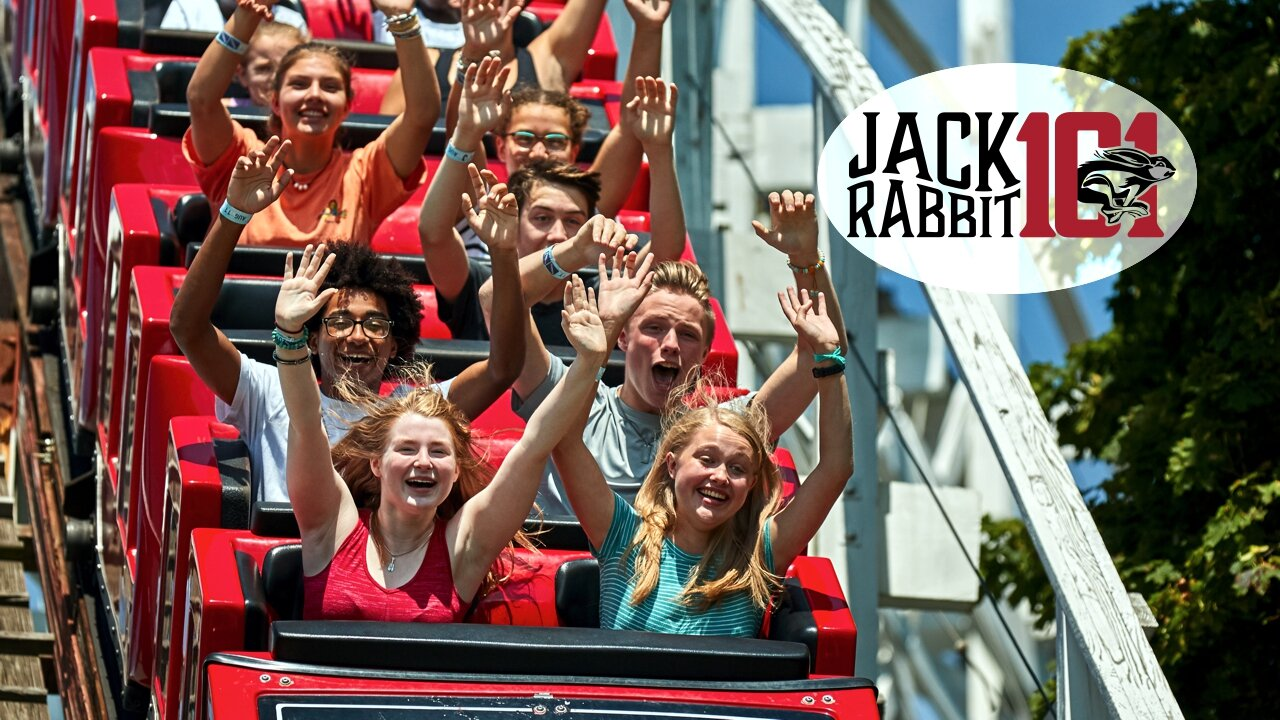 The Jack Rabbit roller coaster is 101 years old.